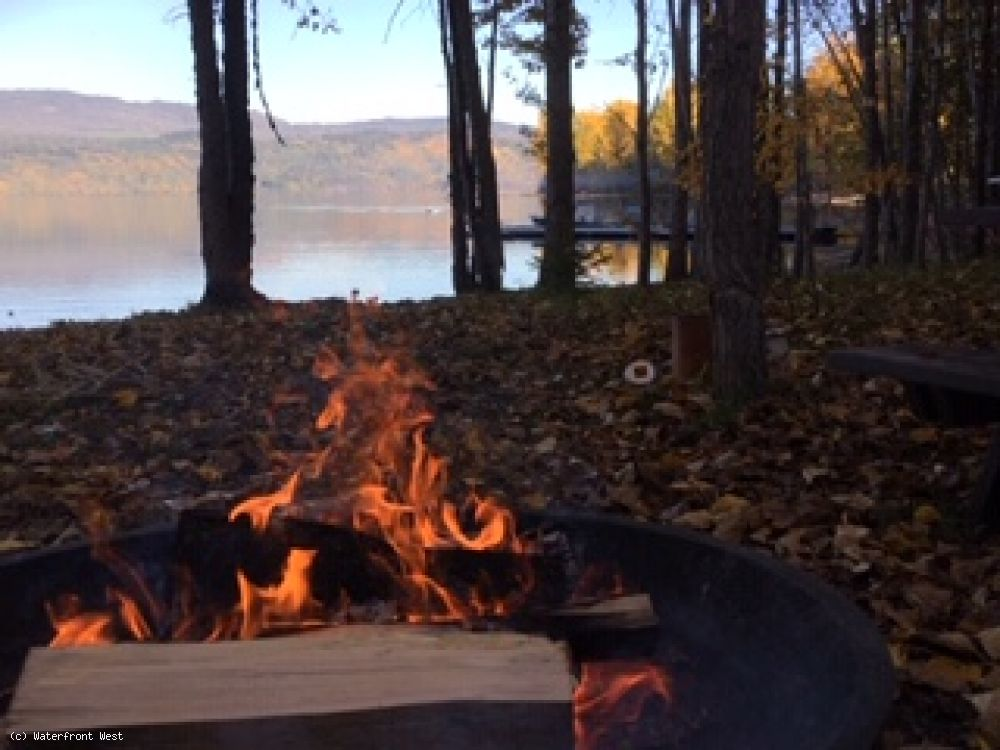 Family Campsite on Babine Lake